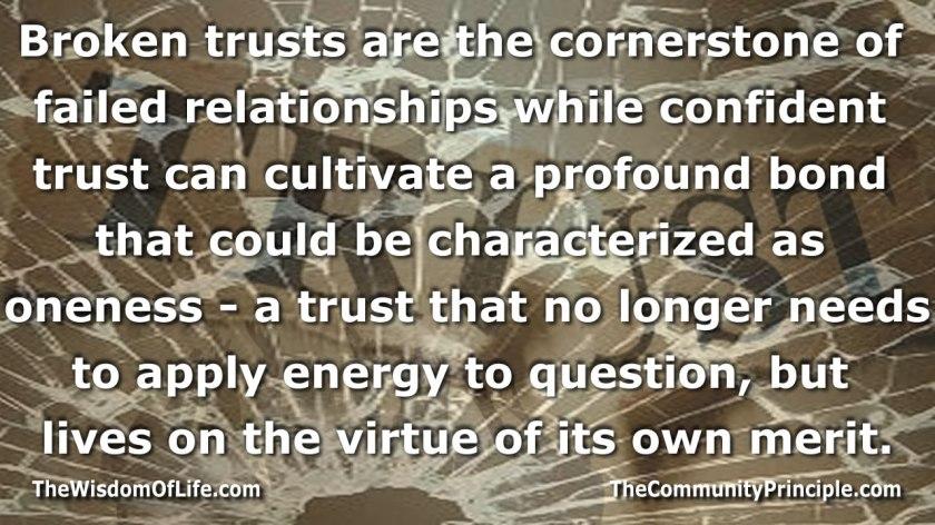 cornerstone of trust
